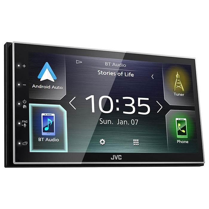 JVC autoradio KWM741BT 2 DIN App Radio / Carplay & Android Bilstereo