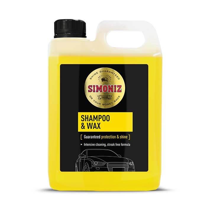 Simoniz shampoo & voks 2 ltr. Bilpleje > Simoniz