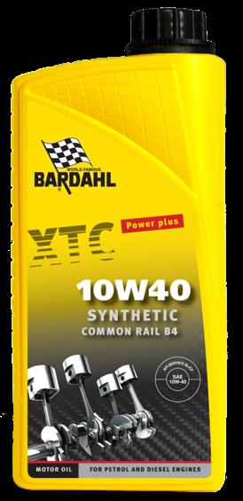 Bardahl Motorolie - XTC 10W/40 Synthetic 1 ltr Olie & Kemi > Motorolie