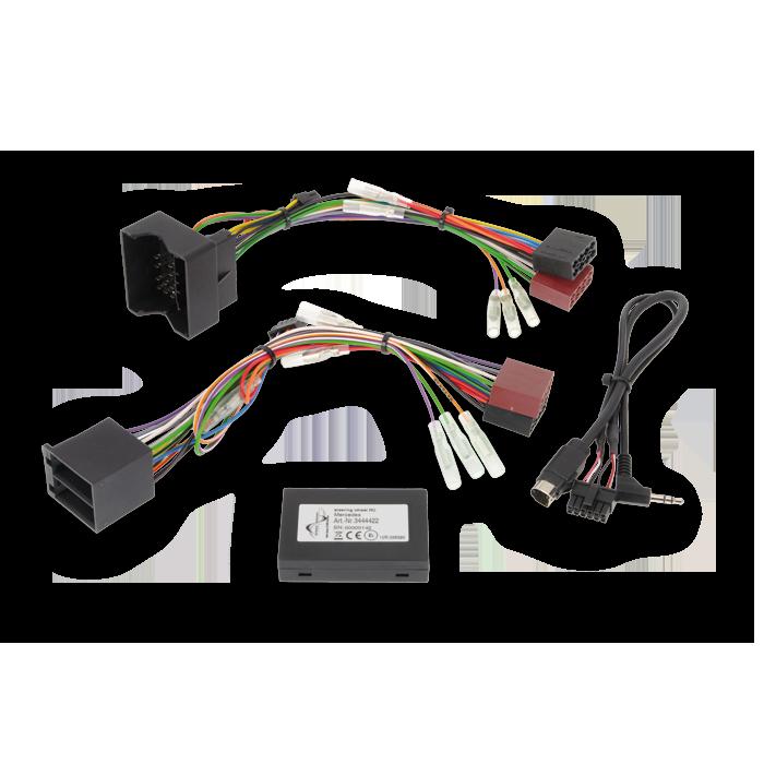 Alpine APF-D200MB Interface Mercedes med Display Bilstereo > Ratstyring