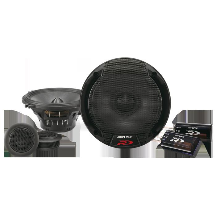 Alpine SPR-50C 13 cm Komponent Højttalersystem Bilstereo > Højttalere > Alpine > Højttalere R-Serie