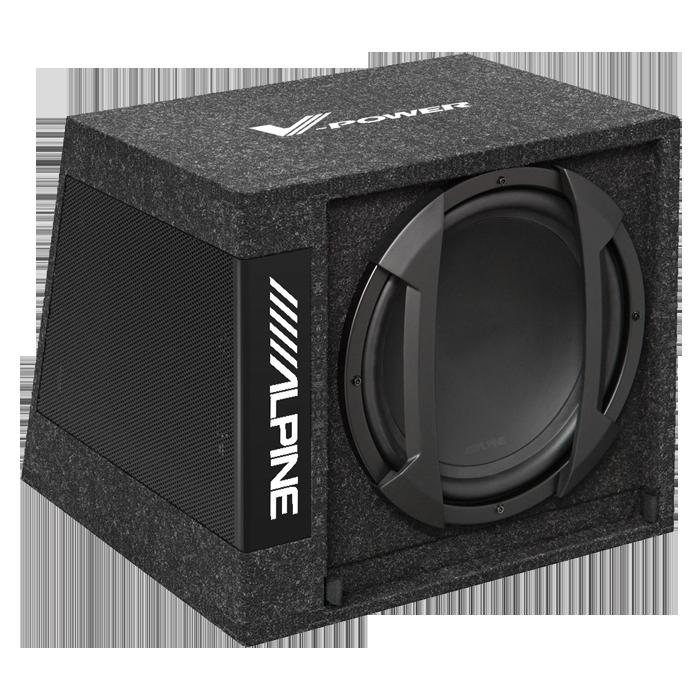 """Alpine SWD-355 12"""" Aktiv Subwoofer Bilstereo > Subwoofere > Alpine > Aktive Subwoofer systemer"""