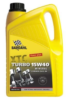 Bardahl Motorolie - XTC 15W/40 Turbo ( Mineralsk baseret ) 5 ltr Olie & Kemi > Motorolie