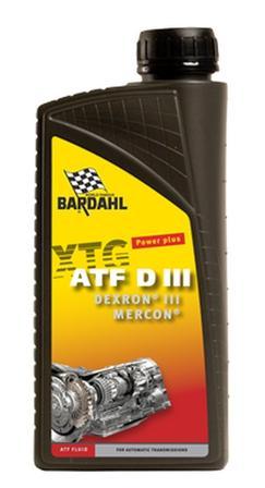 Bardahl Gearolie - Automatgearolie ATF Dexron III 1 ltr Olie & Kemi > Gearolie