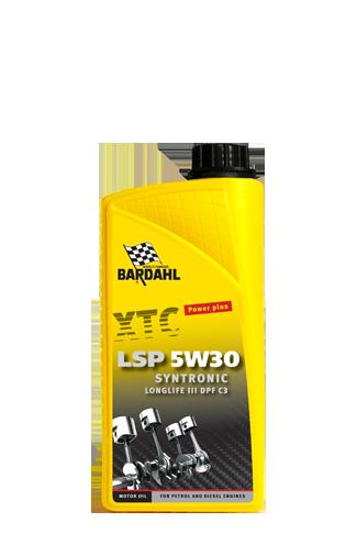 Bardahl Motorolie - XTC LSP 5W/30 Longlife III Syntronic 1 ltr Olie & Kemi > Motorolie
