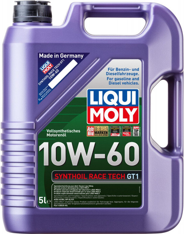 10W60 Motorolie Liqui moly