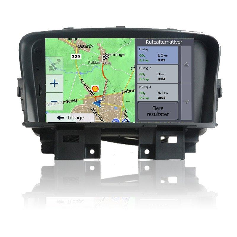 Chevrolet Cruze Navigation Bilstereo > Navigation > Chevrolet