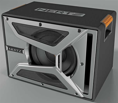 "HERTZ Energy EBX 250R - 10"" Sub box reflex Bilstereo"