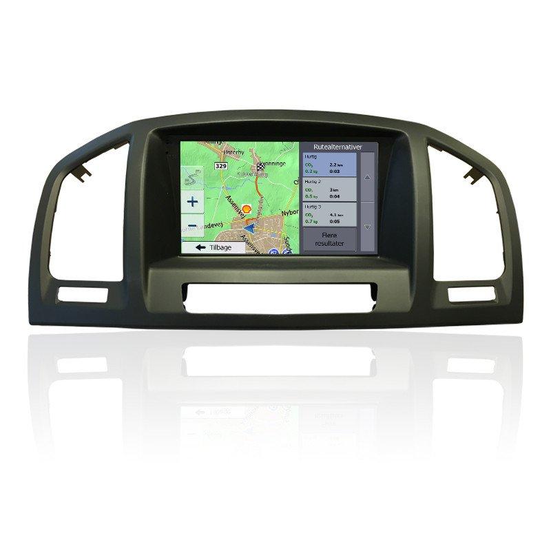 Opel Insignia Navigation med DVD Bilstereo > Navigation > Opel