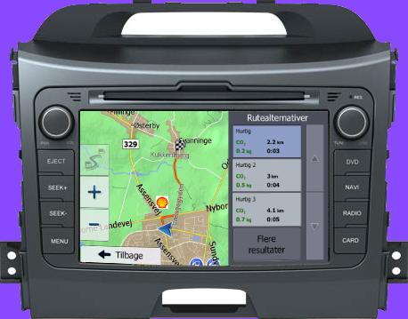 Kia Sportage Navigation Bilstereo > Navigation > Kia