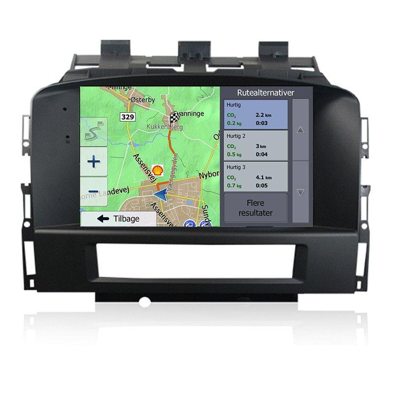 Opel Astra J Navigation Bilstereo > Navigation > Opel