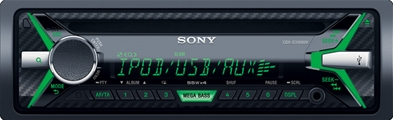 SONY autoradio CDXG3100UV med CD og USB/aux på front