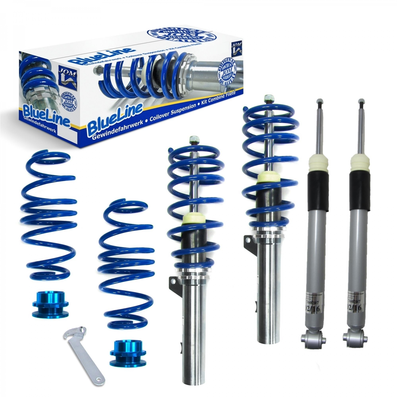 Blue Line - Gevindundervogn til Audi A3 Sportback / sedan - Årgang 2012- Udvendig tilbehør > Gevindundervogn > Audi > A3
