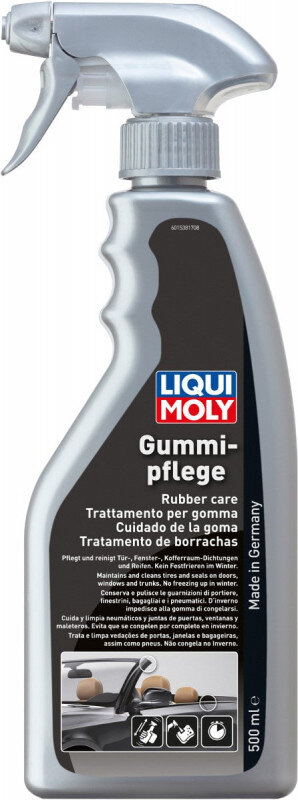 Gummipleje på spray