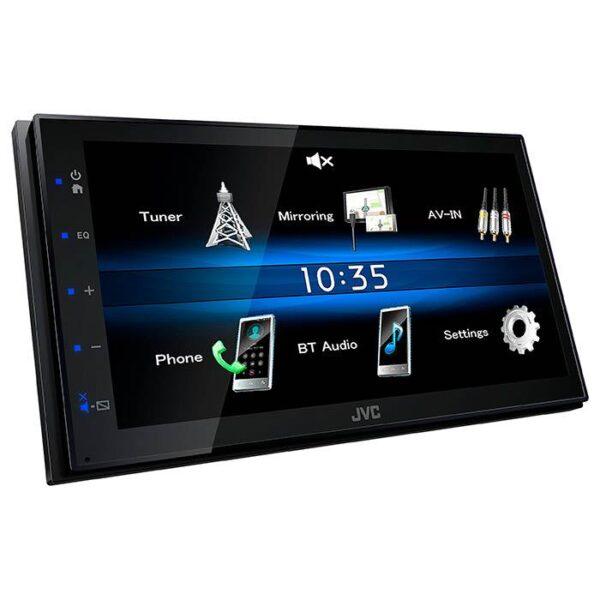 JVC KW-M25BT 2 DIN bilradio med skærm inkl. bakkamera Bilstereo