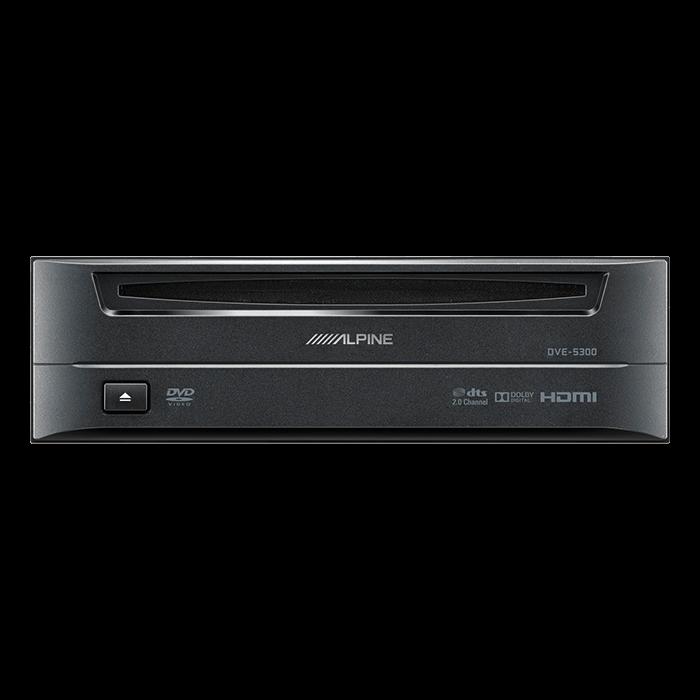 Alpine DVE5300 CD/DVD afspiller 1-DIN m. HDMI Bilstereo