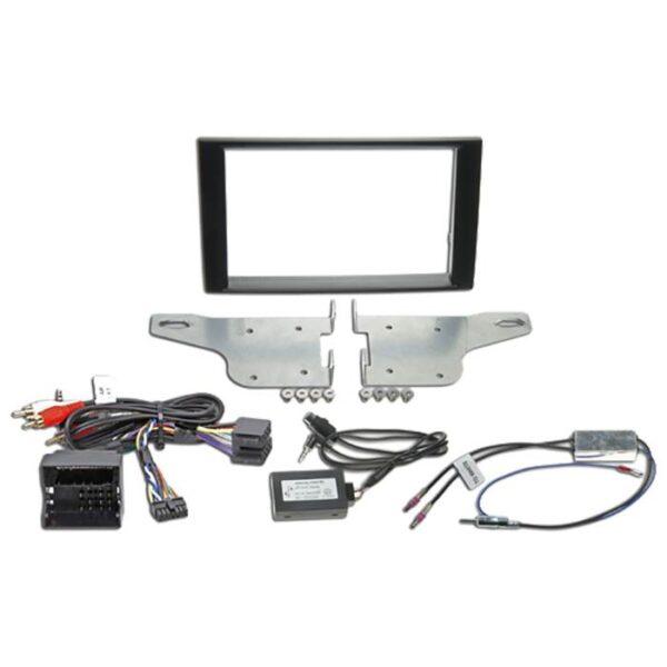 """Alpine KIT8A4D 2-DIN 8"""" Kit f. Audi A4 med display Bilstereo > Monteringssæt"""