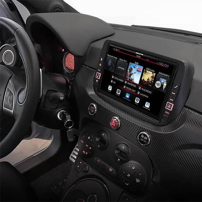 "Alpine X902DF Freestyle 9"" Multimedia Station Android / Carplay Bilstereo > CD / Radio > Alpine"