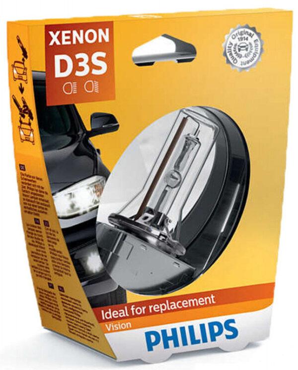 Philips D3S Vision Xenon pære