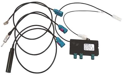 DAB/FM antenne splitter med kabel Bilstereo > Antenner