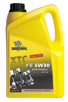 Bardahl Motorolie - XTC FE 5W/30 C2 Synthronic 5 ltr. Olie & Kemi > Motorolie