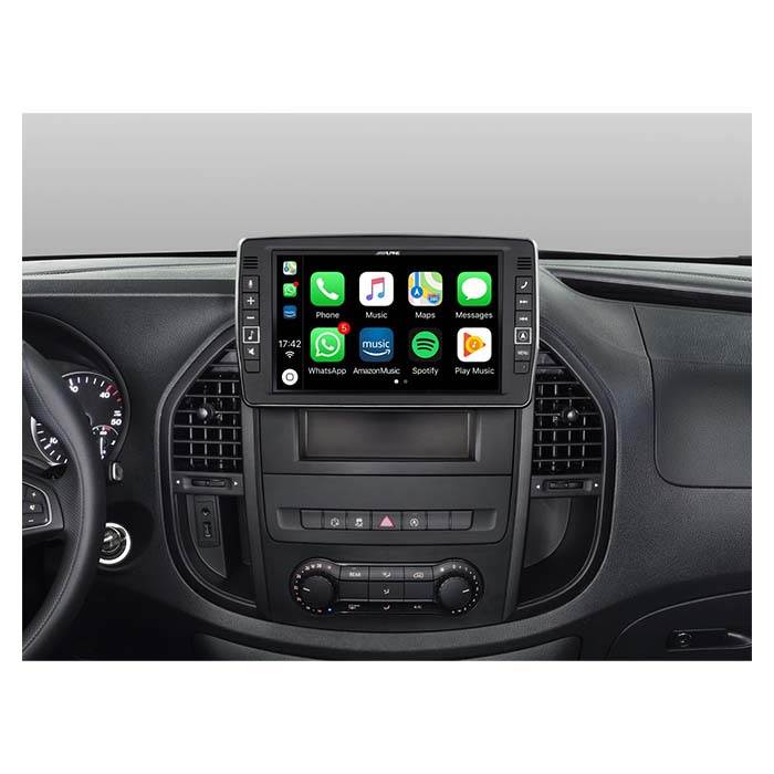 Alpine Style X902D-V447 f. Mercedes Vito 2014- - Multimedia Navigation Bilstereo > Navigation > Mercedes
