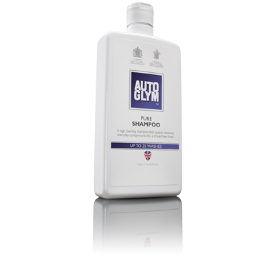 Autoglym Autoshampoo uden voks - Pure Shampoo 1 ltr Bilpleje > Autoglym > Vaskeprodukter