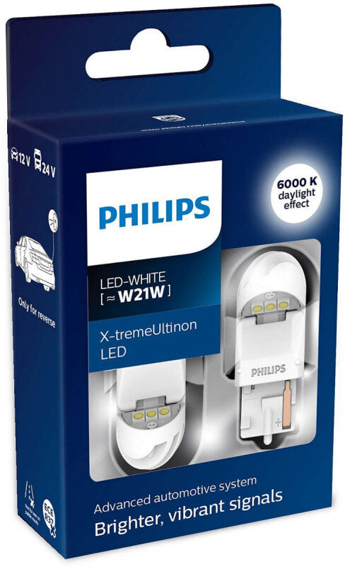 Philips X-tremeUltinon W21W LED-White
