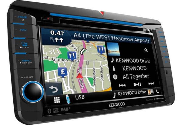 Kenwood KDNX518VDABS Navigation til VW