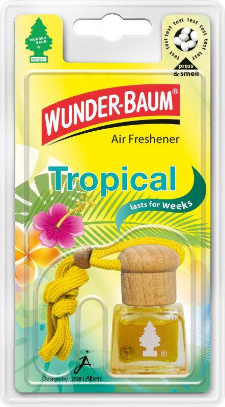 Tropical luft frisker flaske / Air Freshener bottle fra Wunderbaum Wunder-Baum dufte